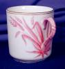 Click to view larger image of Copeland pink grass demi cup & saucer (Image6)