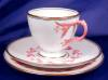 Click to view larger image of Pink & White Relief Molded Dessert Set (Image2)