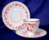 Click to view larger image of Pink & White Relief Molded Dessert Set (Image3)