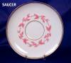 Click to view larger image of Pink & White Relief Molded Dessert Set (Image6)