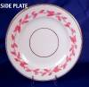 Click to view larger image of Pink & White Relief Molded Dessert Set (Image7)