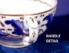 Click to view larger image of Derby Blue Feathers cup & saucer (Image5)