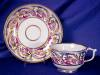 Click to view larger image of Derby Wishbone Handle cup & saucer (Image2)