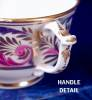 Click to view larger image of Derby Wishbone Handle cup & saucer (Image4)