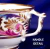 Click to view larger image of Derby Wishbone Handle cup & saucer (Image5)