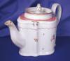 Click to view larger image of New Hall Commode shaped Teapot (Image2)