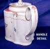 Click to view larger image of New Hall Commode shaped Teapot (Image4)