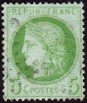 Click here to enlarge image and see more about item France53a: France Sc#53a (1872)