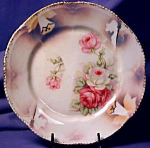 Click to view larger image of German luster dessert plate 6 (Image1)