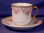 Click to view larger image of Limoges Haviland double stamped c&s for Gumps (Image1)