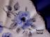 Click to view larger image of Rosina Blue Flowers cup & saucer (Image5)