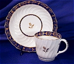 Click here to enlarge image and see more about item RYLWR013: Royal Worcester - Flight Period Coffee duo