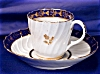 Click to view larger image of Royal Worcester - Flight Period Coffee duo (Image2)