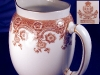 Click to view larger image of Royal Worcester brown transfer pitcher (Image2)