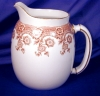 Click to view larger image of Royal Worcester brown transfer pitcher (Image5)