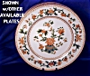 Click to view larger image of Royal Worcester tan & green transfer plate (Image5)