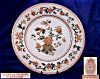Click to view larger image of Royal Worcester tan & green transfer plate (Image2)