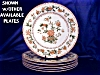 Click to view larger image of Royal Worcester tan & green transfer plate (Image3)