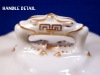Click to view larger image of Royal Worcester blue floral Covered Butter (Image3)