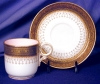 Click to view larger image of Royal Worcester pink interior demitasse c&s (Image2)