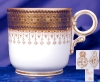 Click to view larger image of Royal Worcester pink interior demitasse c&s (Image3)