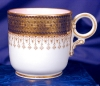 Click to view larger image of Royal Worcester pink interior demitasse c&s (Image4)
