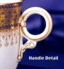 Click to view larger image of Royal Worcester pink interior demitasse c&s (Image5)