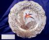 Click to view larger image of Chamberlains Worcester hp Bird Plate (Image2)