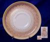 Click to view larger image of Royal Worcester yellow & tan demitasse set (Image5)