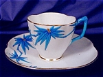Click here to enlarge image and see more about item RYLWR050: Royal Worcester Aesthetic cup & saucer
