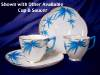 Click to view larger image of Royal Worcester Aesthetic cup & saucer (Image8)