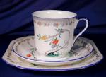 Click to view larger image of Shelley Art Nouveau floral trio (Image1)