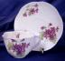 Click to view larger image of Shelley Dainty Violets cup & saucer (Image2)