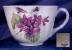 Click to view larger image of Shelley Dainty Violets cup & saucer (Image3)