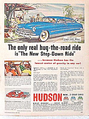 Auto Ads 2 Rare 1950 Hudson,1950 Studebaker  (Image1)