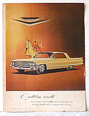 1962 Mercedes Benz, 1961-62 Cadillacs Magazine Ads
