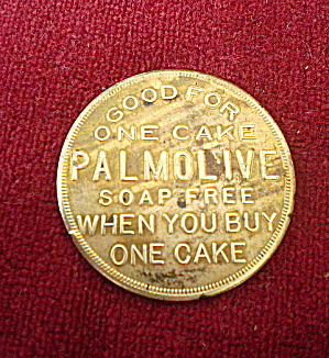 Coin 1940s Redeemable from Palmolive-Peet Company (Image1)
