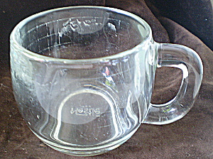 Nestle Vintage Clear Glass Hot Chocolate Cup 1980