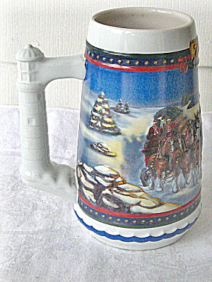 Budweiser Holiday Stein - 2002- Unlidded (Image1)