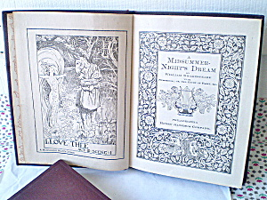 Shakespeare'smidsummer 1900s Altemus Pocket Series