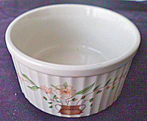 Vintage Countryside Stoneware Small Souffle' Jmp Mkting