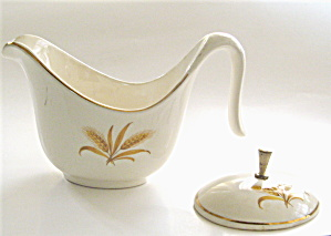 Golden Wheat Creamer And Sugar Cover-taylor,smith & Taylor