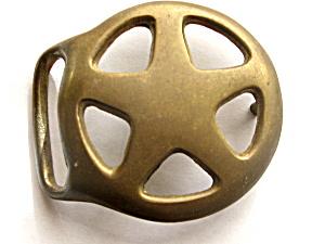 Texas Star Bronze Belt Buckle (Image1)
