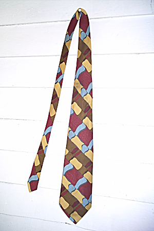 Eugene Jacobs Vintage Mens Tie-suave And Svelte