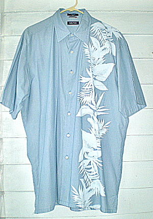 NAUTICA Dress Shirt Mens Short Sleeve1980 (Image1)