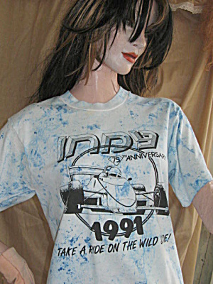 Indy 500 1991 Ladies Shorts & Top Set