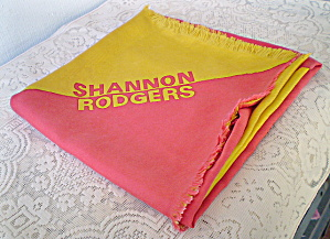 100% Silk Scarf  Vintage Shannon Rodgers  (Image1)