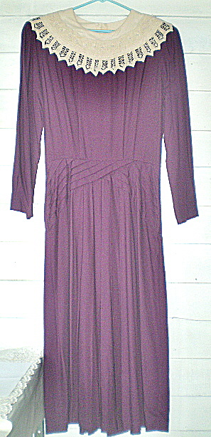 Vintage Long Dress By Kathie Lee For Plaza South