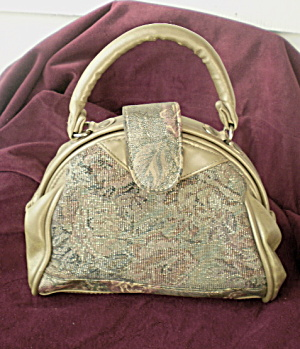 Evening Purse Vintage Bronze Metallic  (Image1)