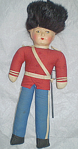 Doll Vintage Cossack Soldier Russia (Image1)